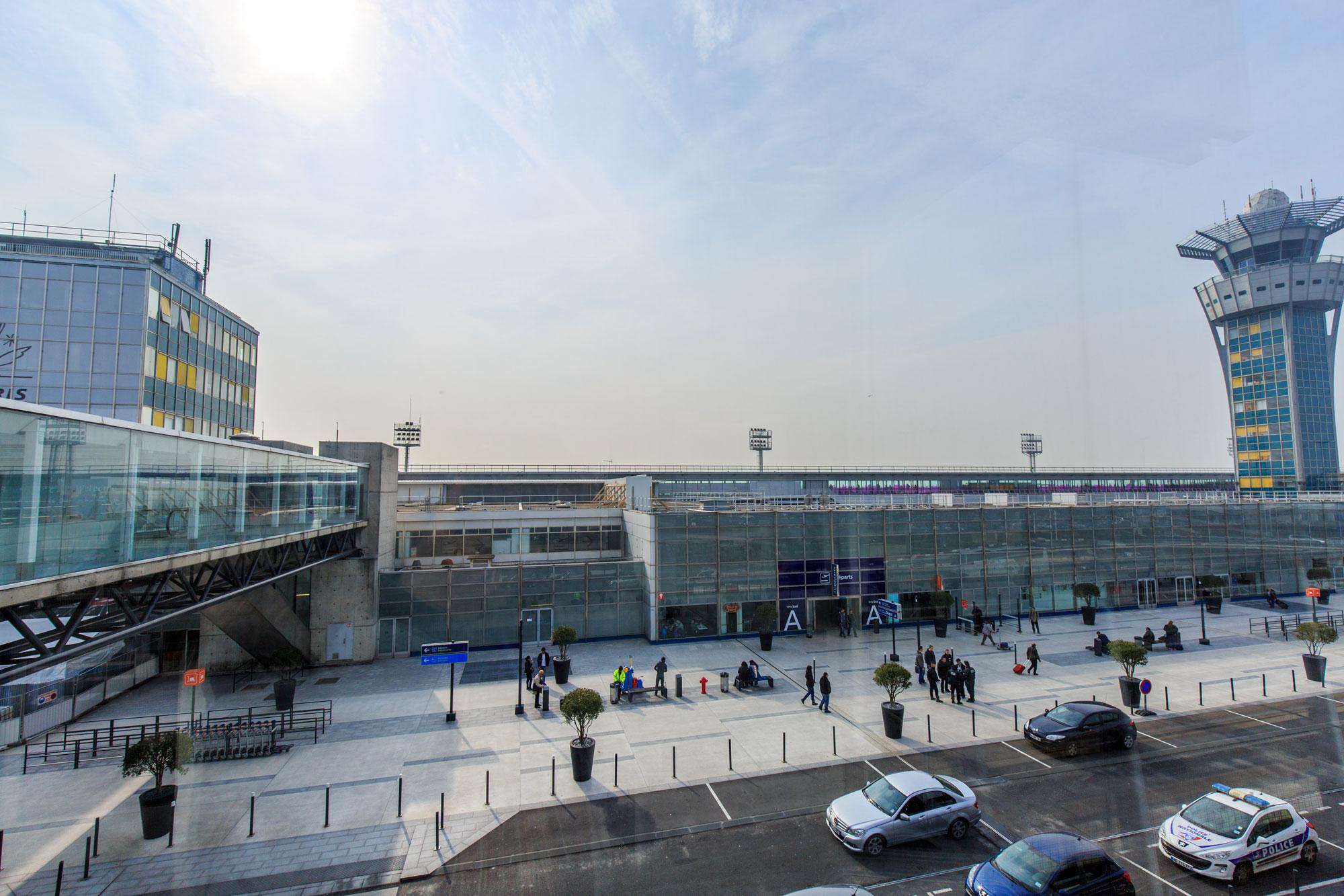 flygplatser paris avstånd
